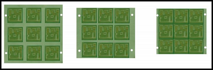 Rigid PCB panel utilization