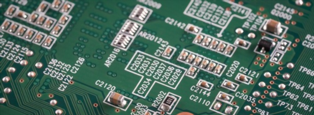 Conformal coating on a PCB