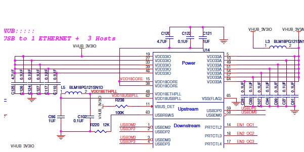 Parallel connection of capacitors in a schematic