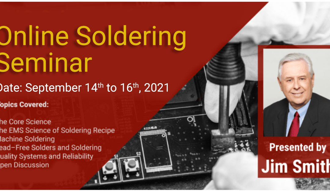Online Soldering Seminar by Jim Smith