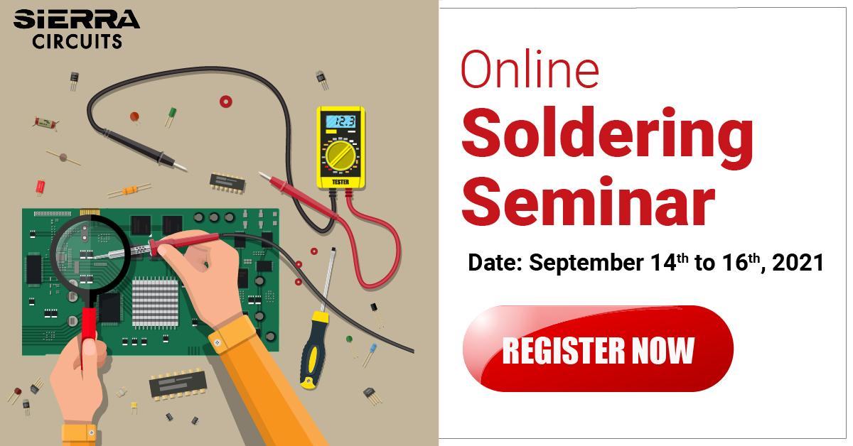 Soldering Seminar by Jim Smith September 2021