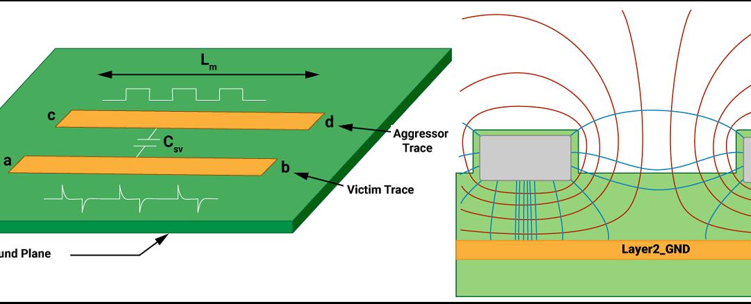 Handle Crosstalk in High-Speed PCB Design