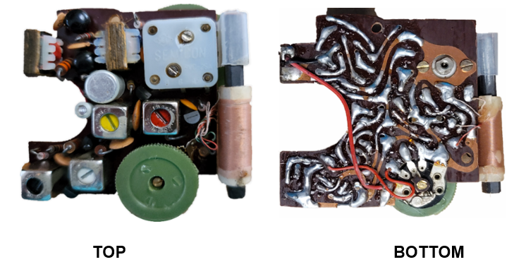 Through-Hole Transistor Radio Circa 1958