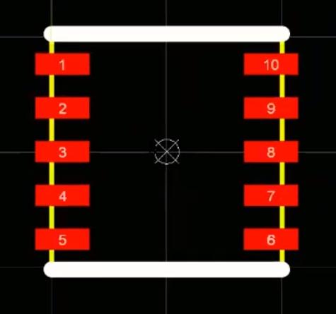 Silkscreen layer in Altium Designer