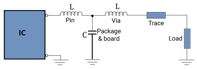 A low pass T filter circuit