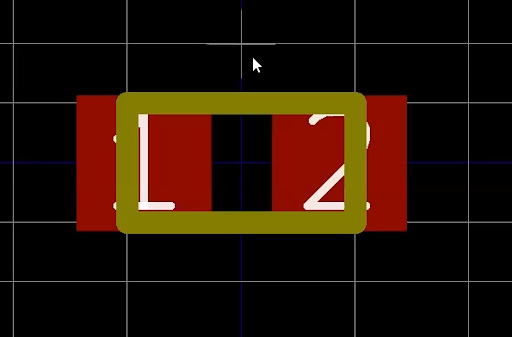 Assembly layer outline in KiCad